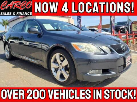 2007 Lexus GS 350 for sale at CARCO SALES & FINANCE #3 in Chula Vista CA