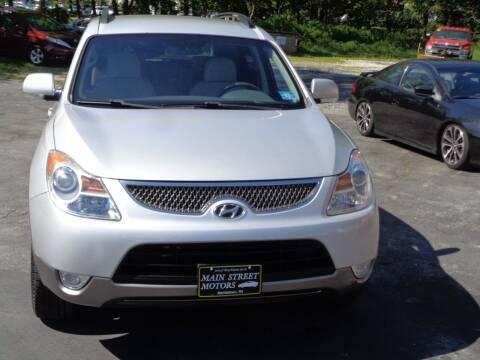 2008 Hyundai Veracruz for sale at MAIN STREET MOTORS in Norristown PA