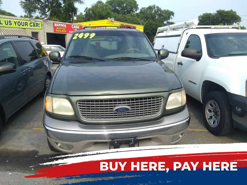 2000 Ford Expedition for sale at Marino's Auto Sales in Laurel DE