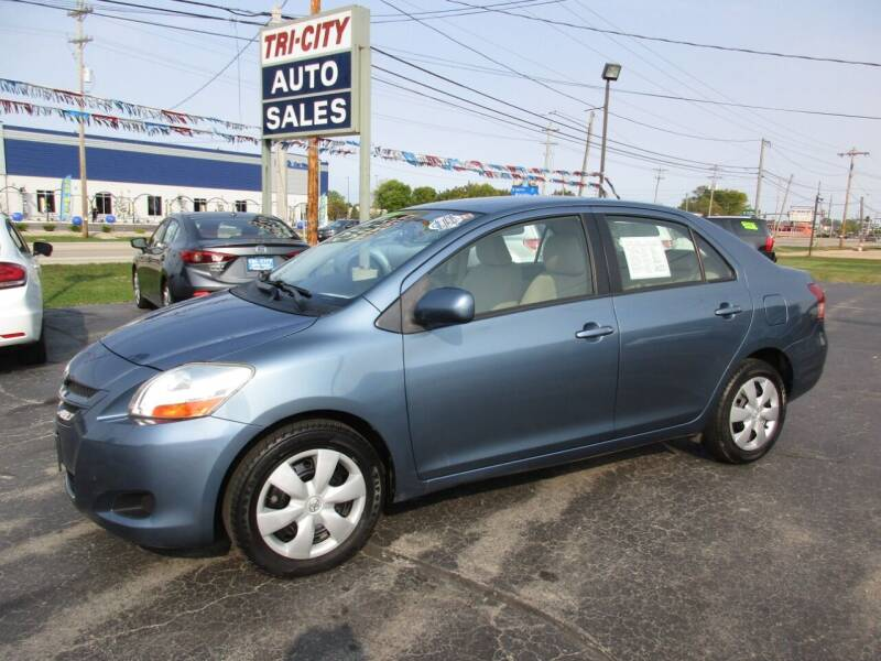 2008 Toyota Yaris for sale at TRI CITY AUTO SALES LLC in Menasha WI