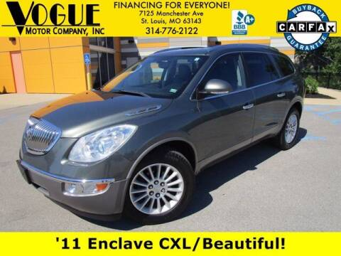 2011 Buick Enclave for sale at Vogue Motor Company Inc in Saint Louis MO