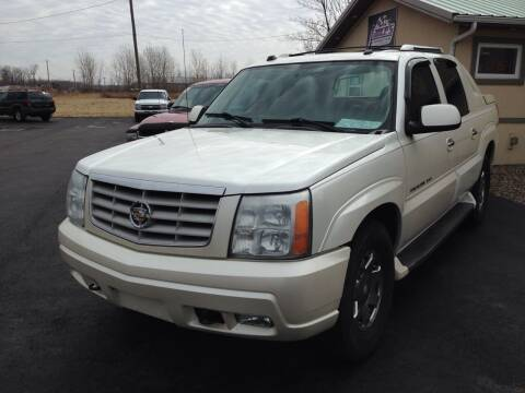 2004 Cadillac Escalade EXT for sale at Lance's Automotive in Ontario NY