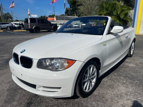 2011 BMW 1 Series for sale at RoMicco Cars and Trucks in Tampa FL