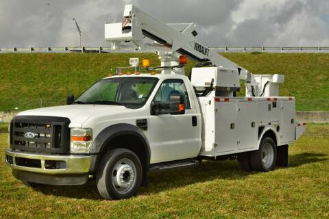 2009 Ford F-550 Super Duty for sale at American Trucks and Equipment in Hollywood FL