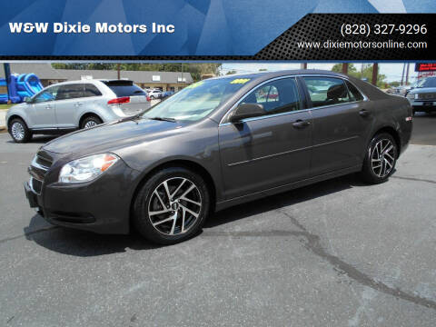 2011 Chevrolet Malibu for sale at W&W Dixie Motors Inc in Hickory NC