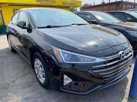 2019 Hyundai Elantra for sale at New Wave Auto Brokers & Sales in Denver CO