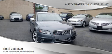 2012 Audi S4 for sale at Auto Trader Wholesale Inc in Saddle Brook NJ