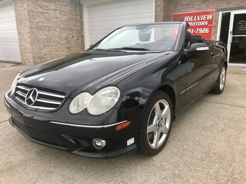 2006 Mercedes-Benz CLK for sale at HillView Motors in Shepherdsville KY