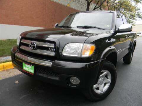 2003 Toyota Tundra for sale at Dasto Auto Sales in Manassas VA