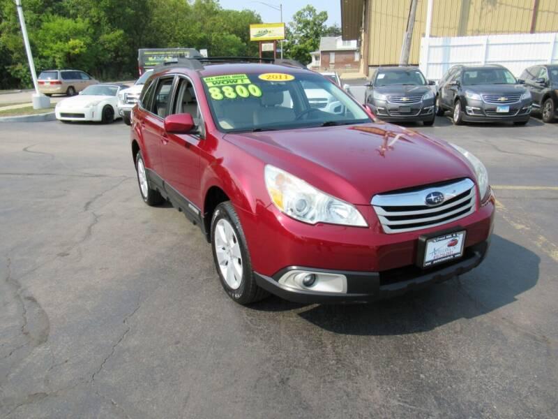 2011 Subaru Outback for sale at Auto Land Inc in Crest Hill IL