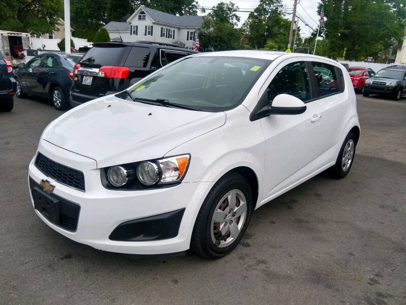 2014 Chevrolet Sonic for sale at Washington Street Auto Sales in Canton MA