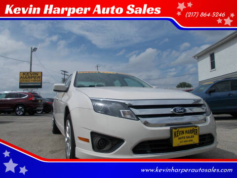2011 Ford Fusion for sale at Kevin Harper Auto Sales in Mount Zion IL