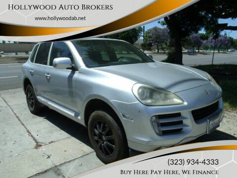 2009 Porsche Cayenne for sale at Hollywood Auto Brokers in Los Angeles CA