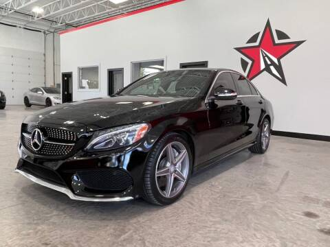 2015 Mercedes-Benz C-Class for sale at CarNova - Shelby Township in Shelby Township MI
