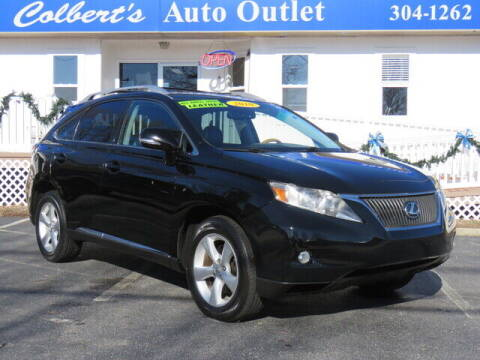 2010 Lexus RX 350 for sale at Colbert's Auto Outlet in Hickory NC