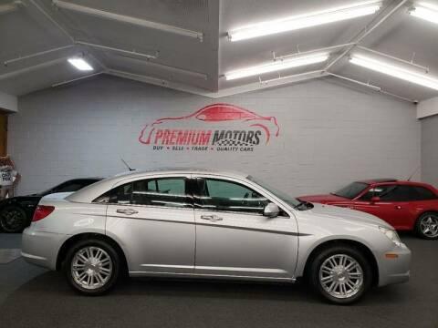2007 Chrysler Sebring for sale at Premium Motors in Villa Park IL