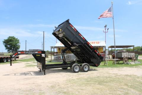 2020 East Texas Dump Trailer for sale at J IV Trailers in Donna TX