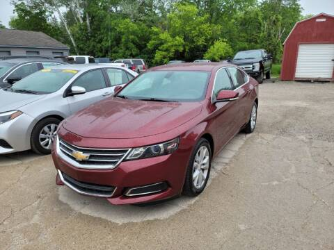 2016 Chevrolet Impala for sale at Clare Auto Sales, Inc. in Clare MI