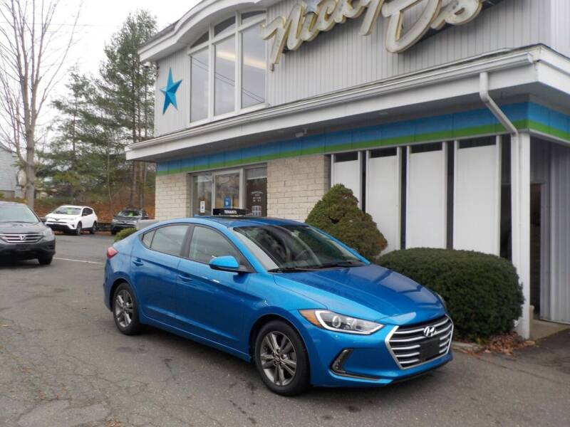 2017 Hyundai Elantra for sale at Nicky D's in Easthampton MA