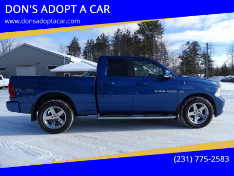 2011 RAM Ram Pickup 1500 for sale at DON'S ADOPT A CAR in Cadillac MI