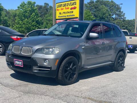 2009 BMW X5 for sale at Luxury Cars of Atlanta in Snellville GA