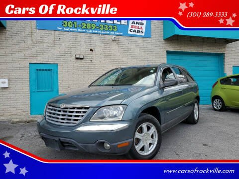 2005 Chrysler Pacifica for sale at Cars Of Rockville in Rockville MD