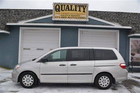 2007 Honda Odyssey for sale at Quality Pre-Owned Automotive in Cuba MO