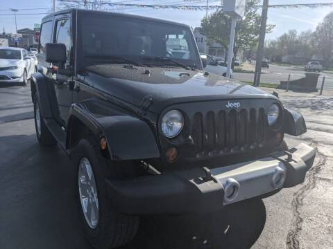 2011 Jeep Wrangler for sale at GREAT DEALS ON WHEELS in Michigan City IN
