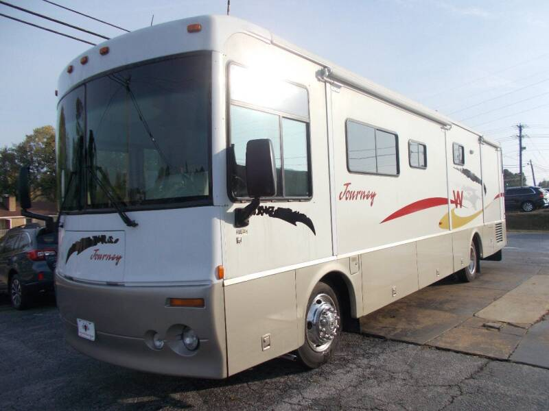 2002 Winnebago Journey for sale at High Country Motors in Mountain Home AR