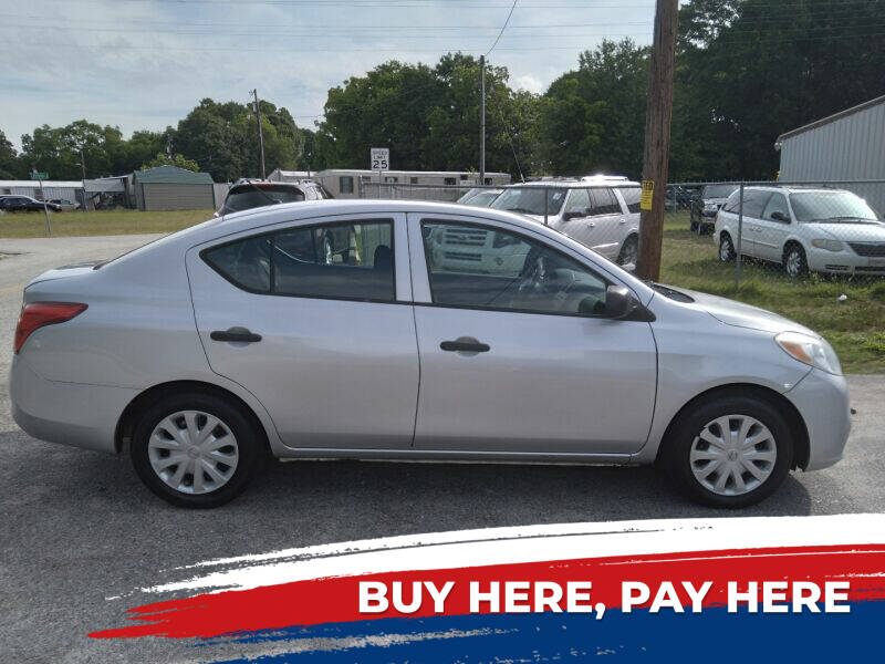 2013 Nissan Versa for sale at Gibson Automobile Sales in Spartanburg SC