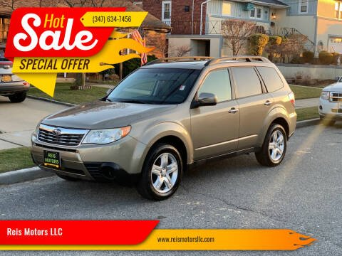 2009 Subaru Forester for sale at Reis Motors LLC in Lawrence NY