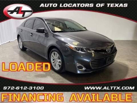 2013 Toyota Avalon for sale at AUTO LOCATORS OF TEXAS in Plano TX