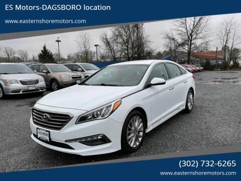 2015 Hyundai Sonata for sale at ES Motors-DAGSBORO location in Dagsboro DE