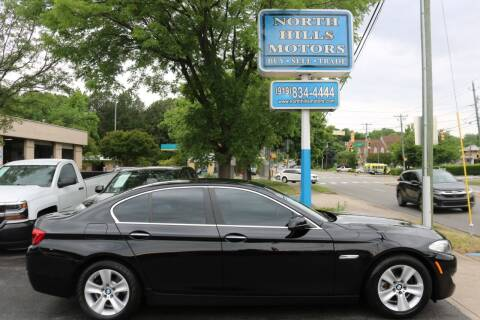 2012 BMW 5 Series for sale at North Hills Motors in Raleigh NC