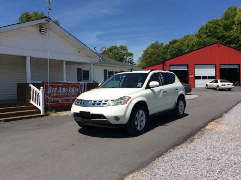 2004 Nissan Murano for sale at Ace Auto Sales - $1200 DOWN PAYMENTS in Fyffe AL
