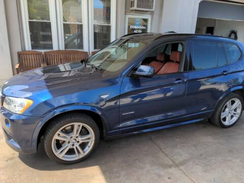 2013 BMW X3 for sale at ROBINSON AUTO BROKERS in Dallas NC