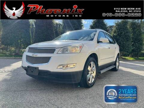 2010 Chevrolet Traverse for sale at Phoenix Motors Inc in Raleigh NC