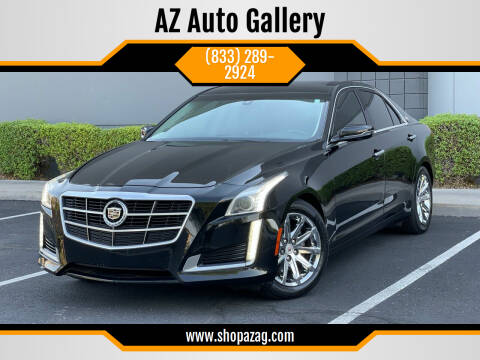 2014 Cadillac CTS for sale at AZ Auto Gallery in Mesa AZ