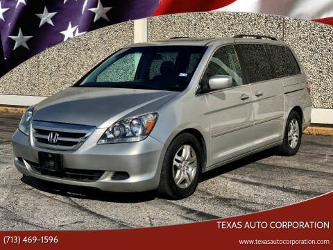 2006 Honda Odyssey for sale at Texas Auto Corporation in Houston TX