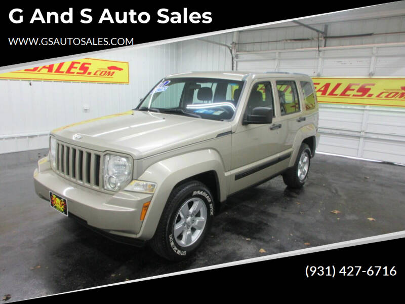 2011 Jeep Liberty for sale at G and S Auto Sales in Ardmore TN