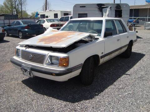 1988 Plymouth Reliant K America for sale at One Community Auto LLC in Albuquerque NM