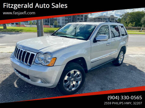 2008 Jeep Grand Cherokee for sale at Fitzgerald Auto Sales in Jacksonville FL