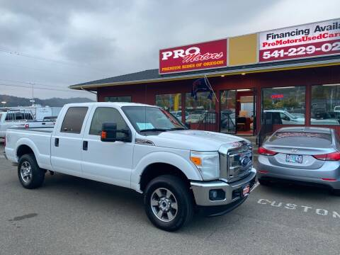 2012 Ford F-250 Super Duty for sale at Pro Motors in Roseburg OR