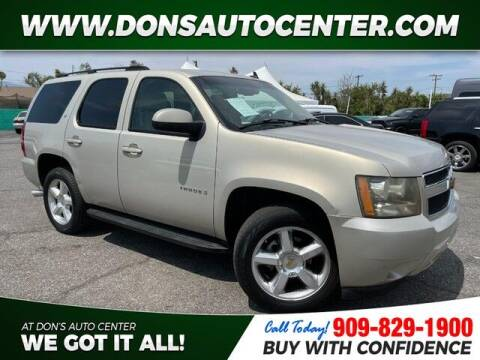 2007 Chevrolet Tahoe for sale at Dons Auto Center in Fontana CA