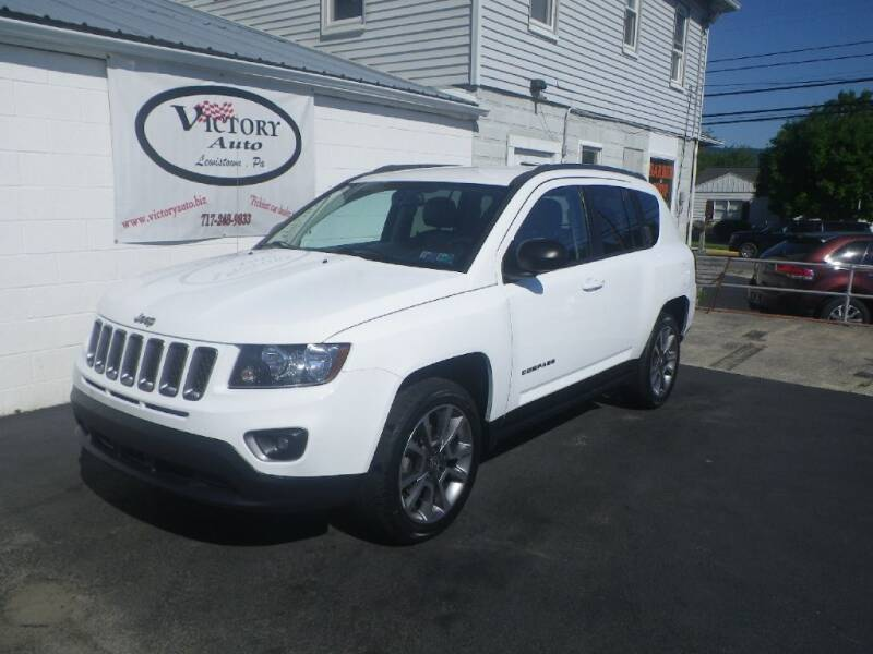 2016 Jeep Compass for sale at VICTORY AUTO in Lewistown PA