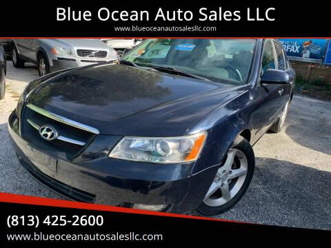 2008 Hyundai Sonata for sale at Blue Ocean Auto Sales LLC in Tampa FL
