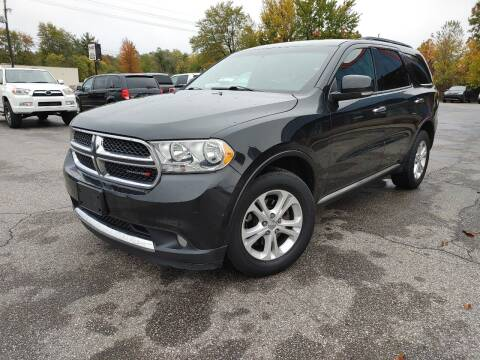 2013 Dodge Durango for sale at Cruisin' Auto Sales in Madison IN