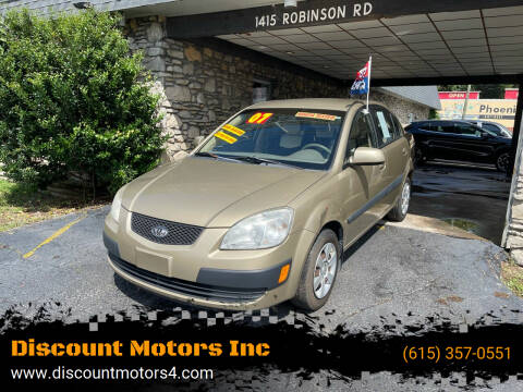 2007 Kia Rio for sale at Discount Motors Inc in Old Hickory TN