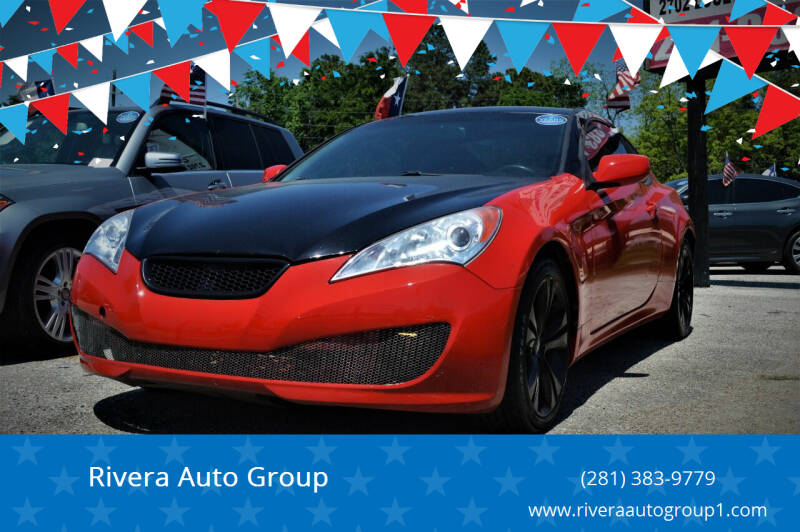 2012 Hyundai Genesis Coupe for sale at Rivera Auto Group in Spring TX