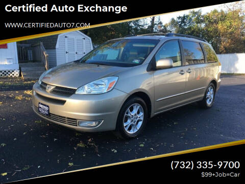 2004 Toyota Sienna for sale at Certified Auto Exchange in Keyport NJ